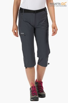 Regatta Grey Xert Stretch Capri II Trousers
