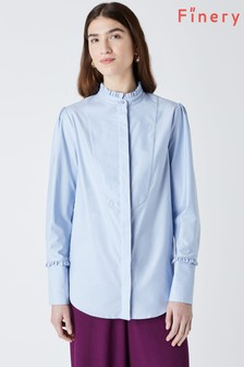 Finery Ayden Frill Placket Blouse