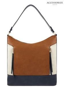 Accessorize Tan Holly Hobo Bag