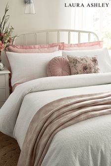 White Ophelia Duvet Cover And Pillowcase Set
