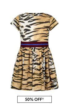 Tiger Stripe Organic Cotton Dress