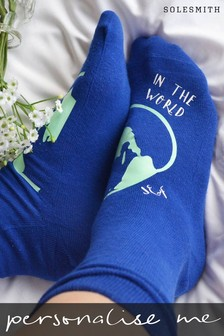Personalised Best In The World Socks by Solesmith
