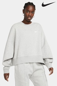 Nike Essential Fleece Oversized Crew Sweater
