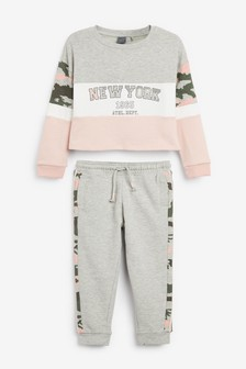 Crew And Jogger Set (3-16yrs)