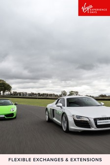 Double Supercar Speed Passenger Ride And Photo Gift by Virgin Experience Days
