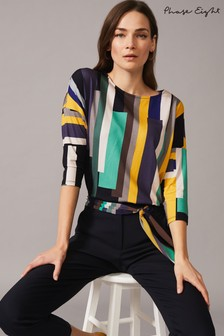 Phase Eight Multi Nanami Graphic Print Top