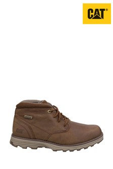 CAT® Lifestyle Brown Elude Waterproof Lace-Up Boots