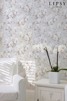 Spring Blossom Floral Wallpaper by Lipsy