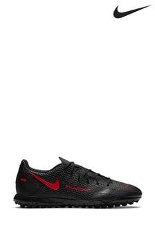 Nike Black Phantom Club Turf Football Boots