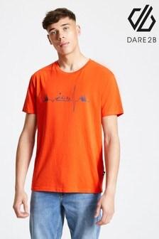 Dare 2B Orange Differentiate Printed T-Shirt