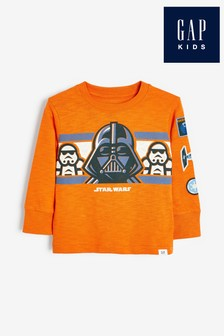Gap Star Wars™ Darth Vader Long Sleeve T-Shirt