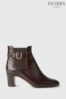 Hobbs Brown Patricia Buckle Boots