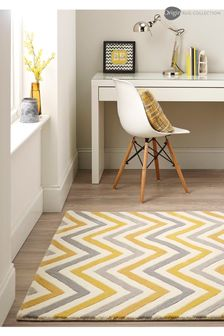 Origins Cabone Wool Chevron Rug