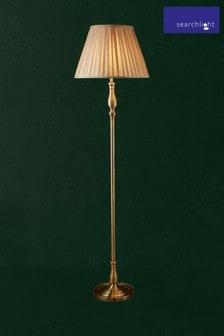 Searchlight Brass Flemish Floor Lamp