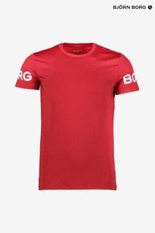 Bjorn Borg Sport T-Shirt, Rot