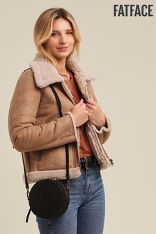 FatFace Natural Shearling Jacket