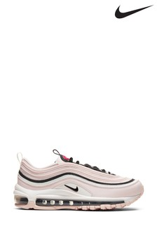 Nike Pink/White Air Max 97 Trainers