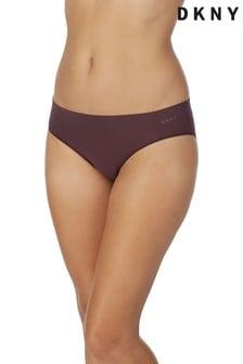 DKNY Purple Solid Bikini