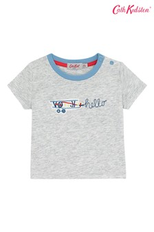 Cath Kidston® Cream In The Sky Baby T-Shirt
