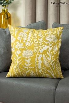 Turi Jacquard Cushion by Ashley Wilde