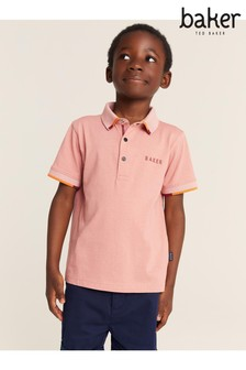 Baker by Ted Baker Chevron Polo
