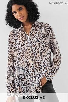 Mix/Blouse Printed Shirt