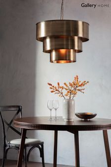Morris Large Pendant Light by Gallery Direct