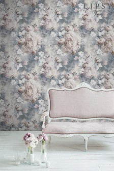 Ava Floral Wallpaper by Lipsy