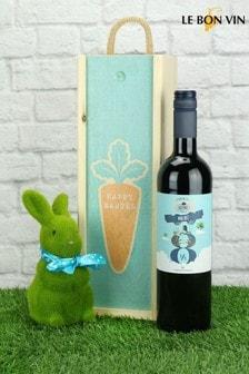 Happy Easter Spanish Malbec Gift Set by Le Bon Vin