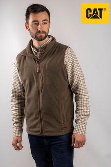 CAT® Green Concord Fleece Vest