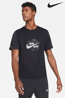 Nike Wild Run Black Miler T-Shirt