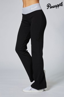 Pineapple Exclusive Contrast Band Bootcut Jersey Joggers