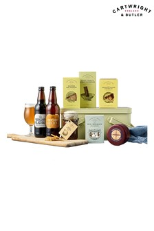 The Cheese And Beer Gift Hamper by Cartwright & Butler