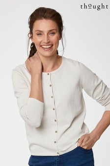 Thought Cream Bodil Cardigan