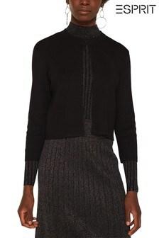 Esprit Black Long Sleeve Bolero