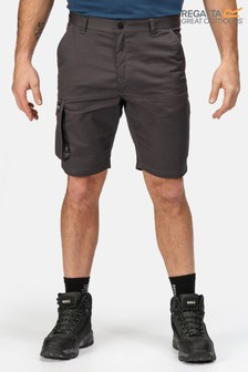 Regatta Grey Heroic Cargo Shorts