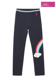 Joules Blue Wilde Rainbow Character Leggings