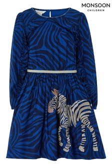 Monsoon Christie Zebra Dress
