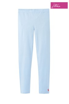 Joules Blue Emilia Jersey Leggings