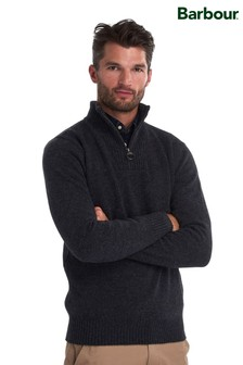 Barbour® Lambswool Half Zip Jumper