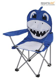 Regatta Blue Animal Kids Folding Chair
