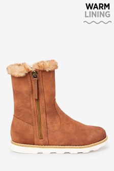 Faux Fur Lined Boots (Older)