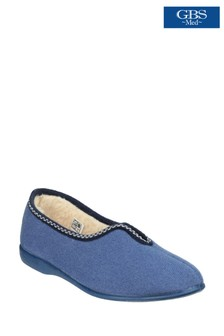 GBS Blue Helsinki Classic Slippers