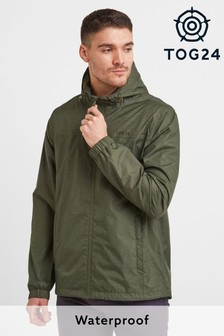 Tog 24 Green Craven Mens Packaway Waterproof Jacket