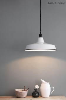 Albion Wide Pendant Light by Garden Trading
