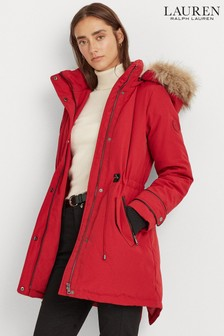 Lauren Ralph Lauren® Red Waterproof Arctic Parka Jacket