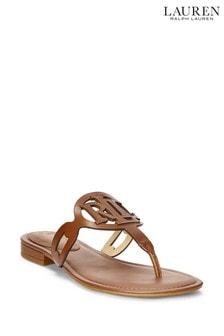 Lauren Ralph Lauren® Leather Audrie Sliders