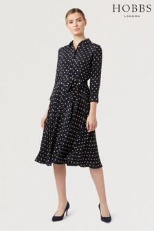 Hobbs Blue Lainey Dress