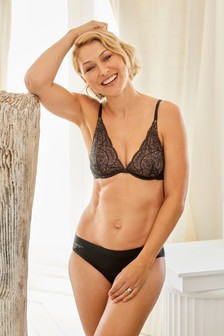 Emma Willis Luxurious Lace Brazilian Knickers