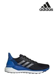 Черные кроссовки adidas Solar Glide